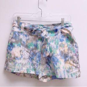 Kimchi Blue 6 rainbow tie shorts